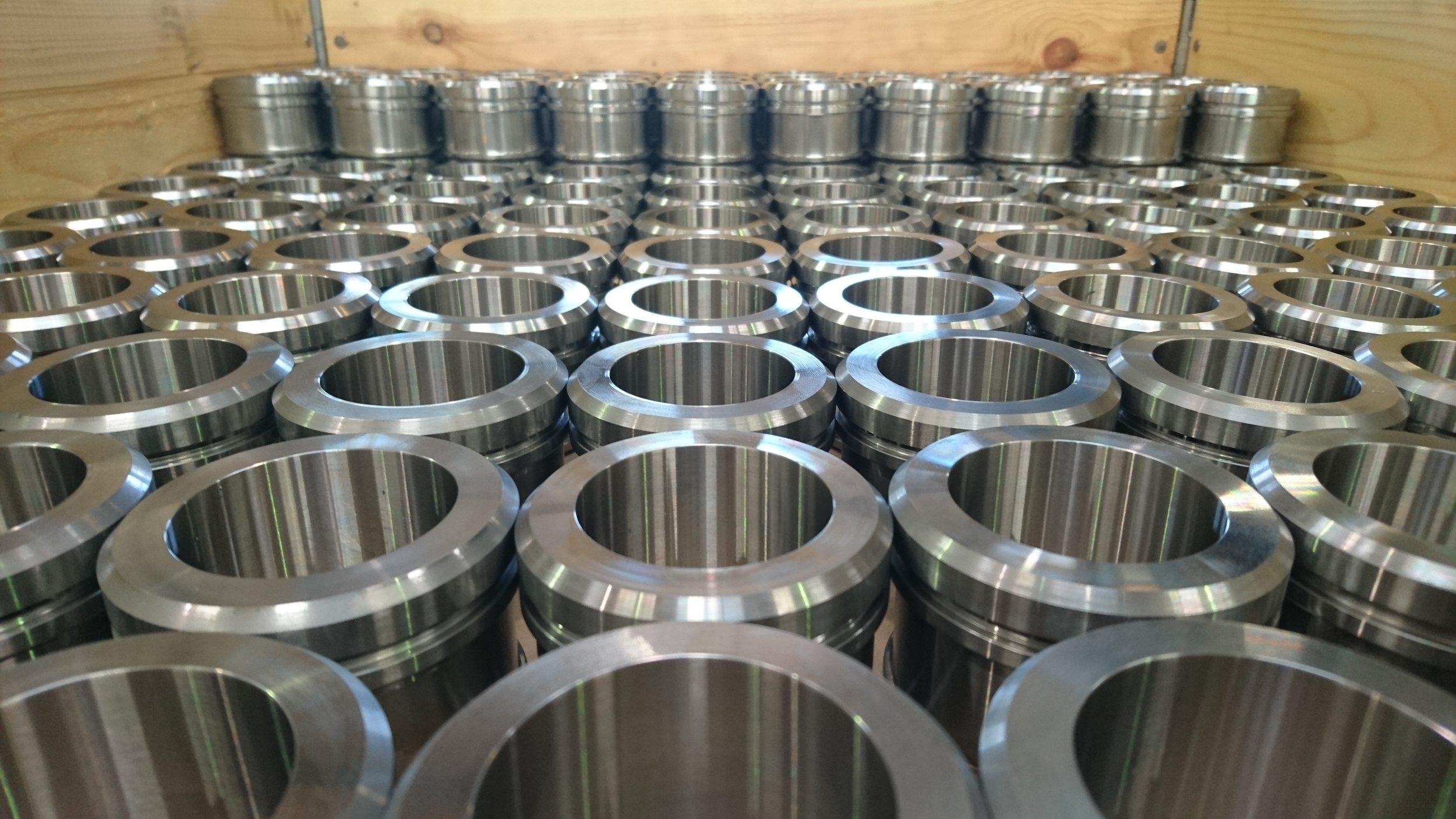 Serieproduktion af drejede emner i stål