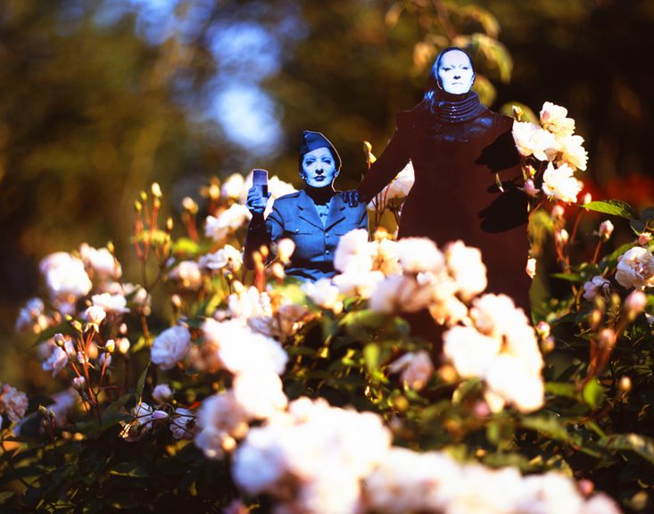 MARINA ABRAMOVIC AND ANTONY IN MANCHESTER REPHOTOGRAPHED IN GIVERNY 2012