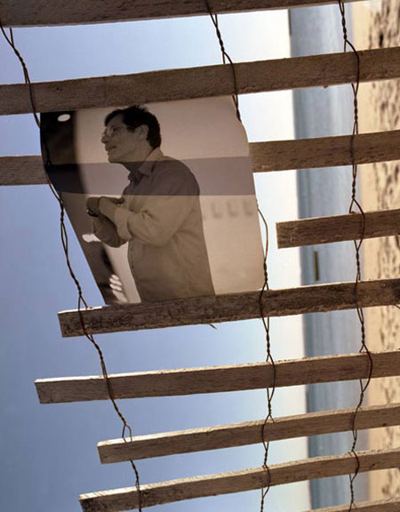 RICHARD TUTTLE IN NEW YORK REPHOTOGRAPHED IN PROVINCETOWN 2005
