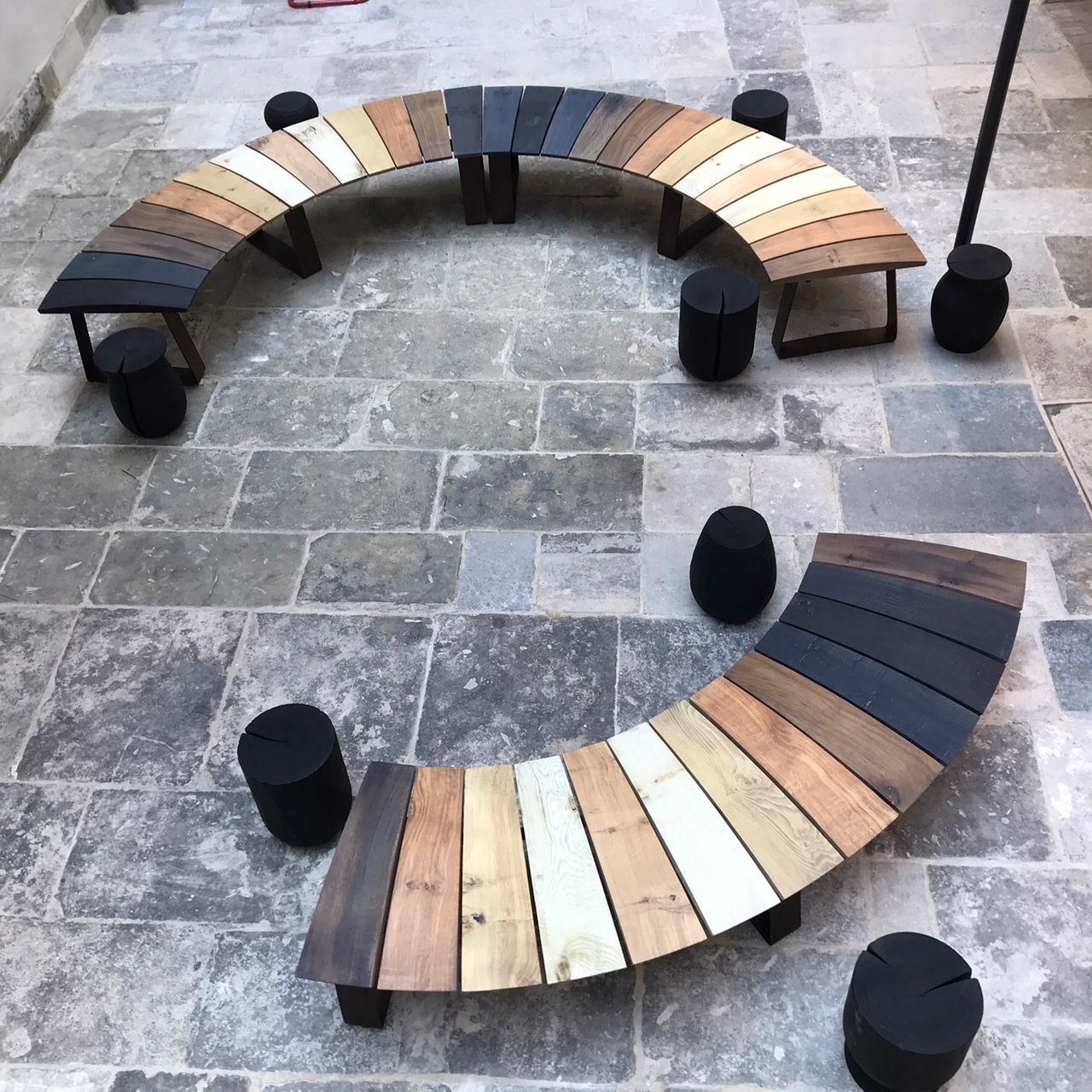 LSI BENCH AND STOOLS