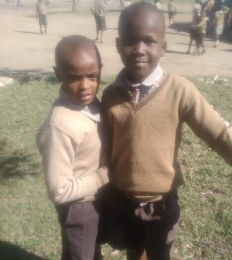 Joseph (right) came to Shelter in March, and after several home visits, it was clear that though the family struggled financially, Joseph was very well-loved and cared for. The only reason he was on the streets was that his mother had been unable to pay his school fees, as well as school bag, books and sweater (which are requirements for attending school). He was so thrilled to be reunited with his family! We recently met him at school, where he is happy and doing very well.