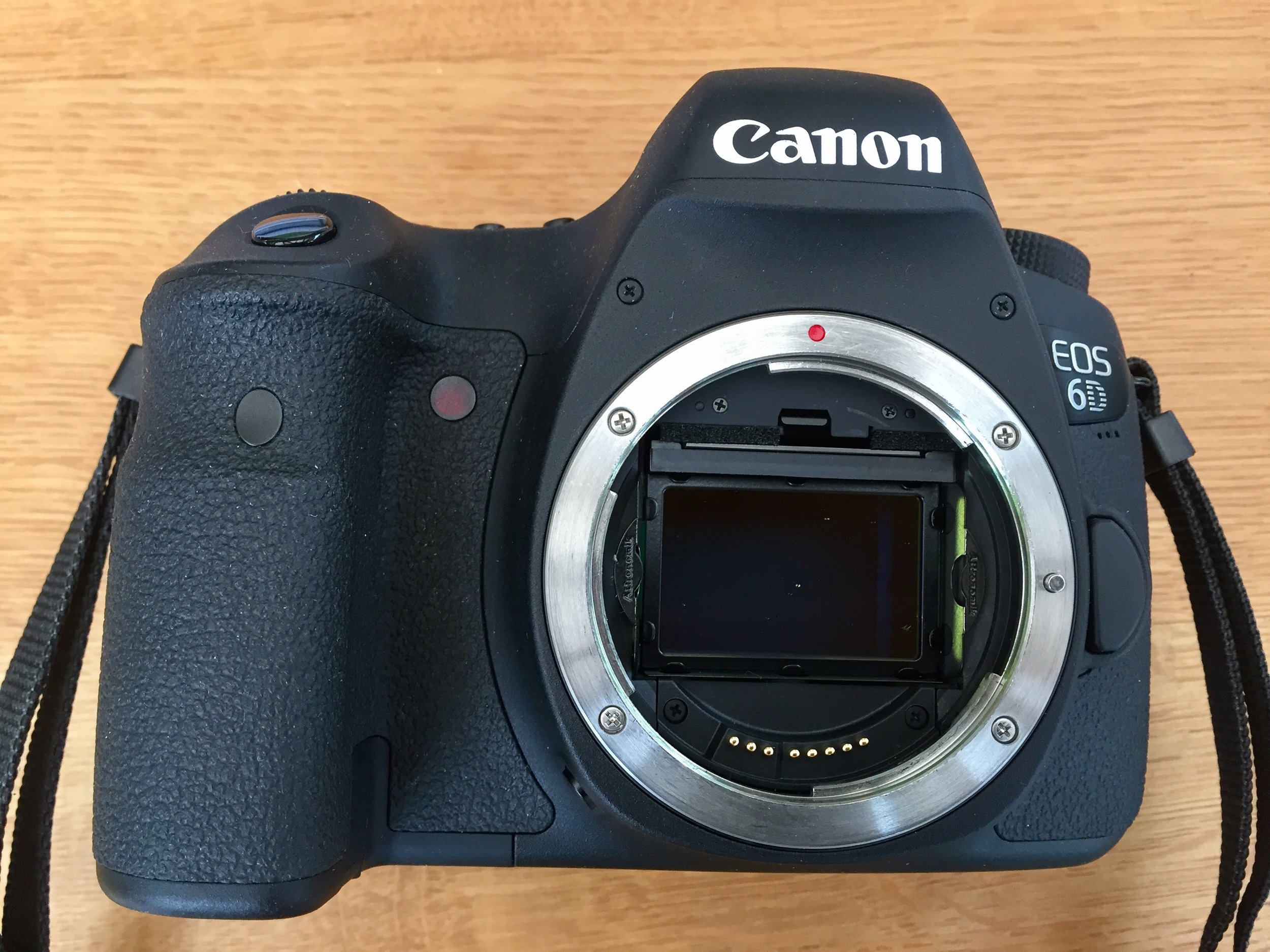 My Canon 6D with Astronomik CLS filter fitted