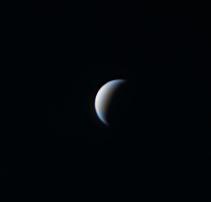 Venus shot through an IR pass & UV filter