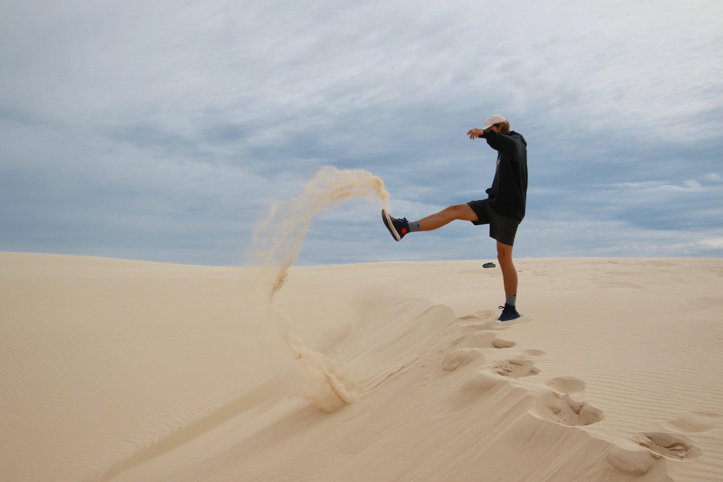 Desert - A desert somewhere in Australia