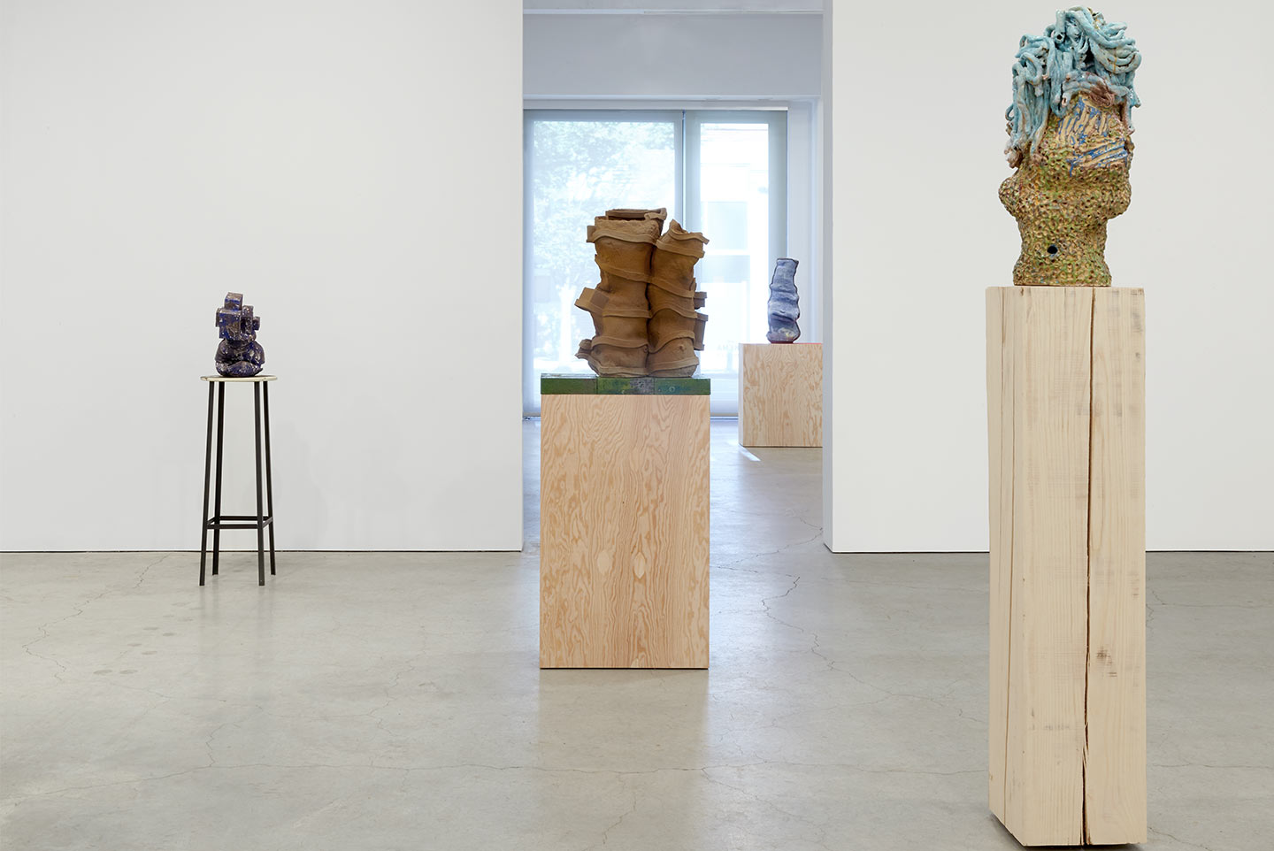 Installation view,  Slip ,solo exhibition at Sikkema Jenkins & Co., NYC, 2013.
