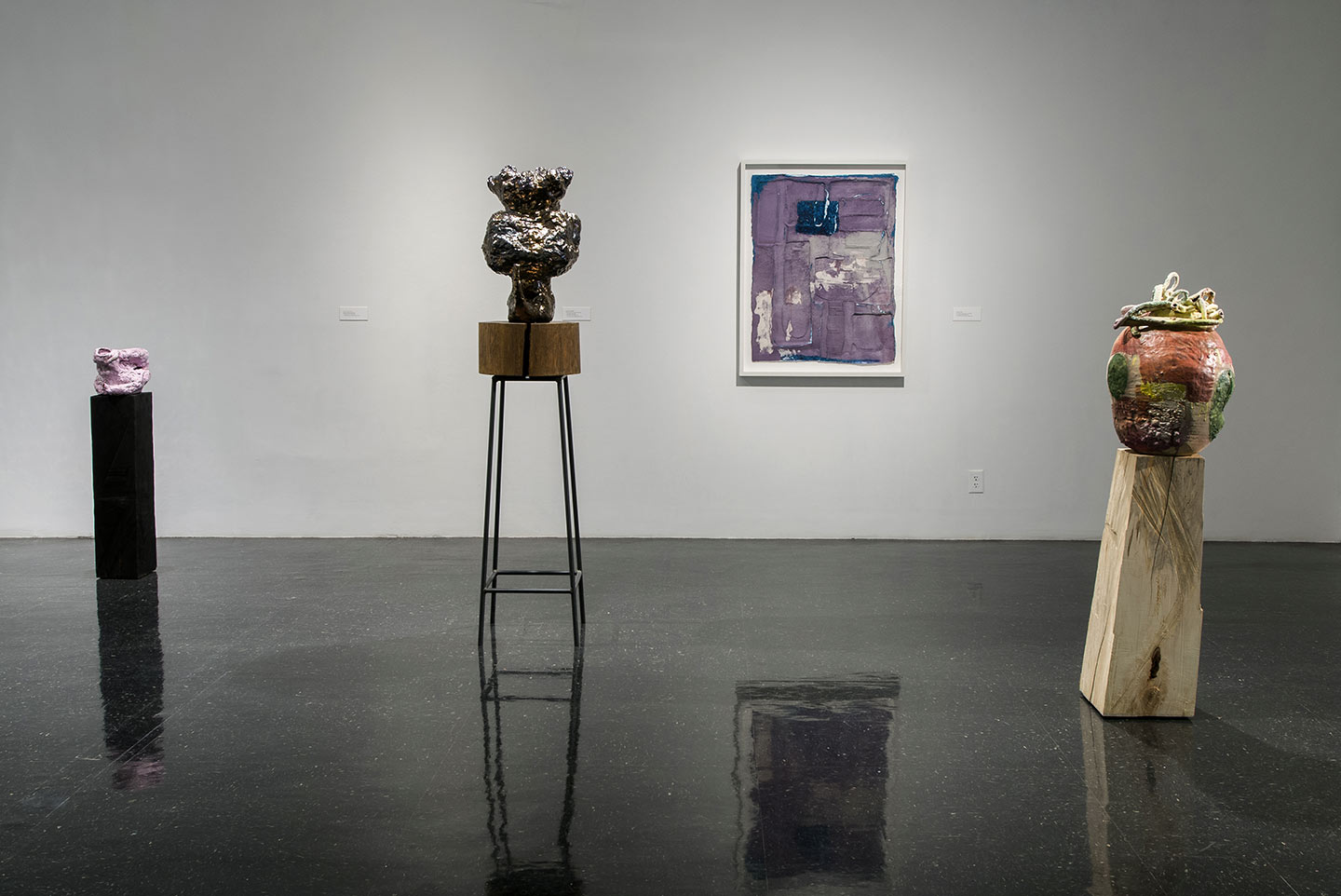 Installation view,  That Time , solo exhibition at the the Anderson Gallery, VCUarts, VA, 2012.