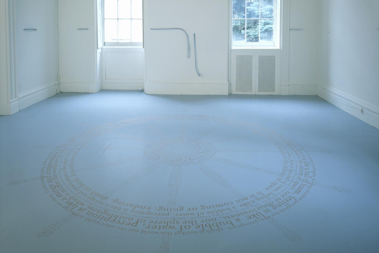 Turning the Wheel , 2003. Installation, Snug Harbor Cultural Center, Staten Island, NY.