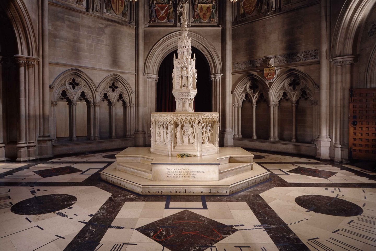 A Threshold of Spirit , 2001. Installation, Cathedral of St. John the Divine, NY.