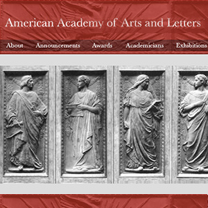 American Academy of Arts and Letters Artist Award