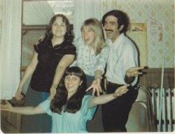 Dr. Jack and his office staff - 1981, Enosburg Falls, VT