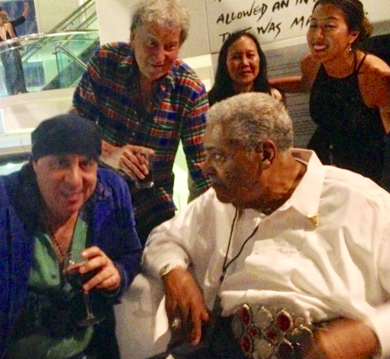 Left: Steven Van Zandt; Above: Elvin Bishop and Family; and Sam Lay - Photo by Holly Siegel.