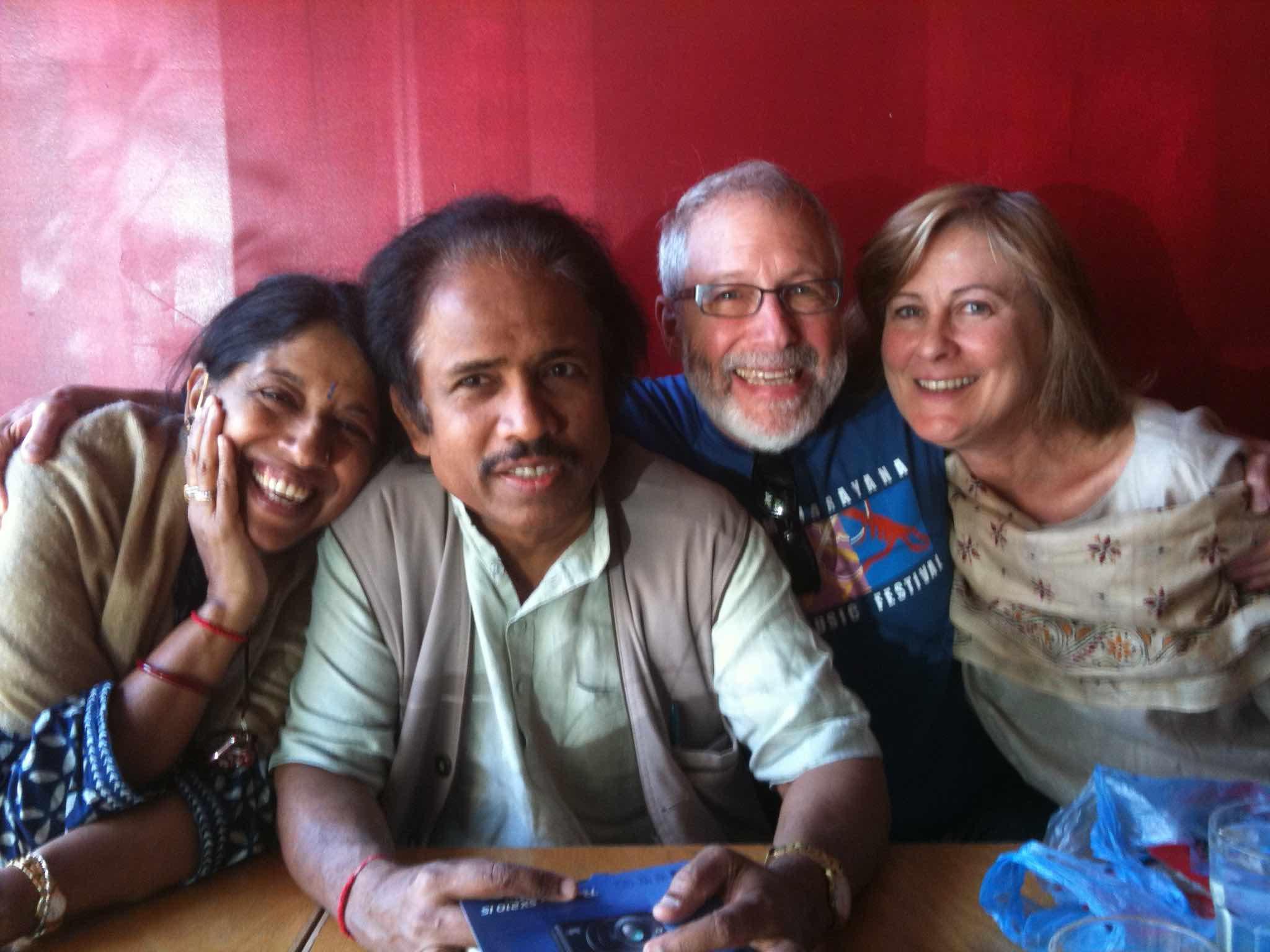 Kavita Krishnamurti, Dr. L. Subramaniam, Me and Holly