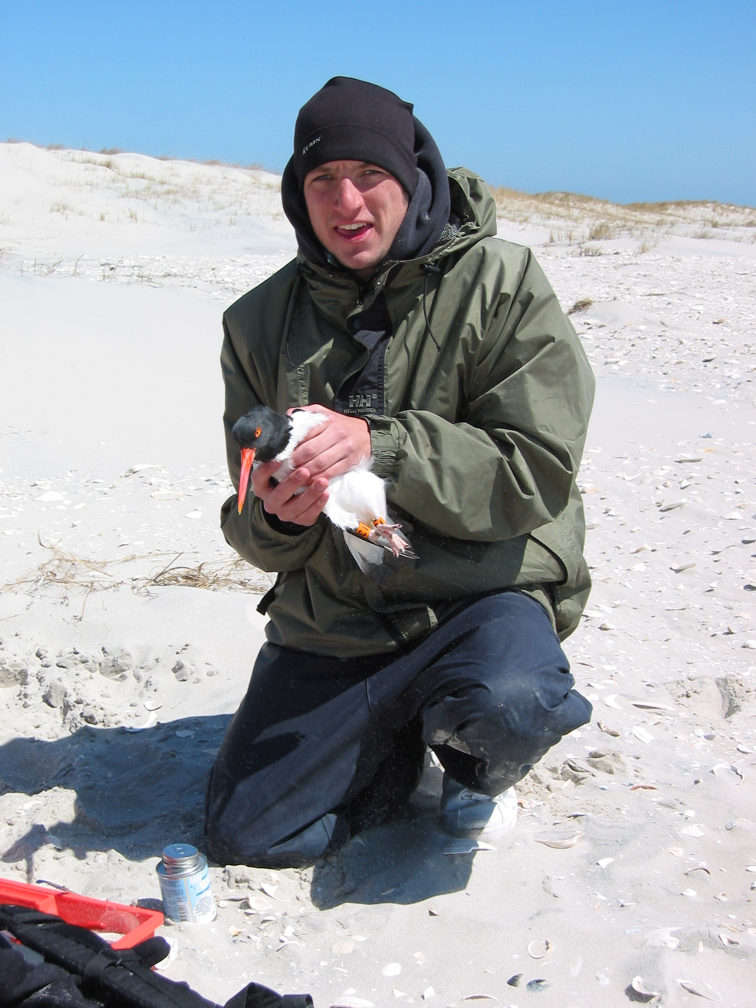 Living the dream working as an AMOY field technician in New Jersey, USA. #therealJerseyShore. Photo by Tom Virzi.