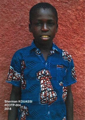 Kouadio Sherman Wilfried Kouassi - Birthday: October 25, 2009