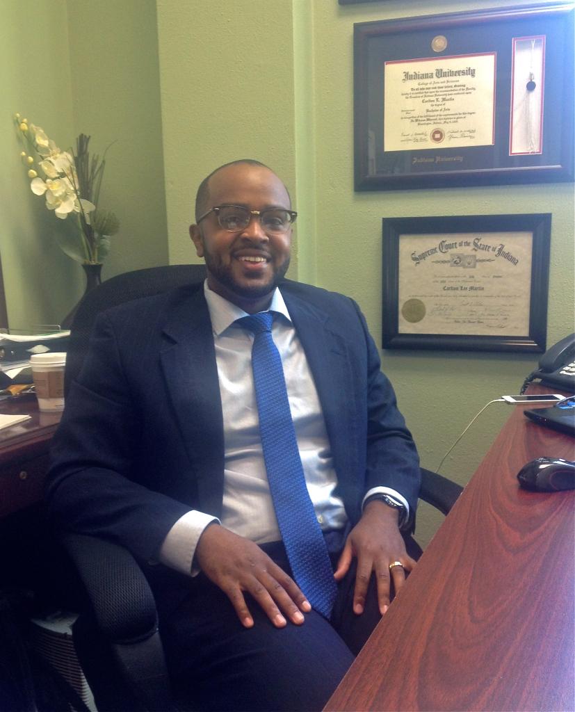 Staff Attorney Carlton Martin