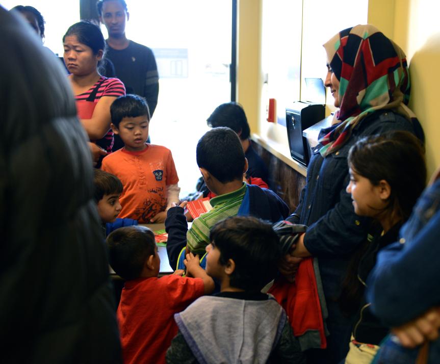Refugee Clients at RAD 2015