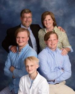 Greg York and his family