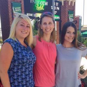 Center, Desiree; Right, Cathy