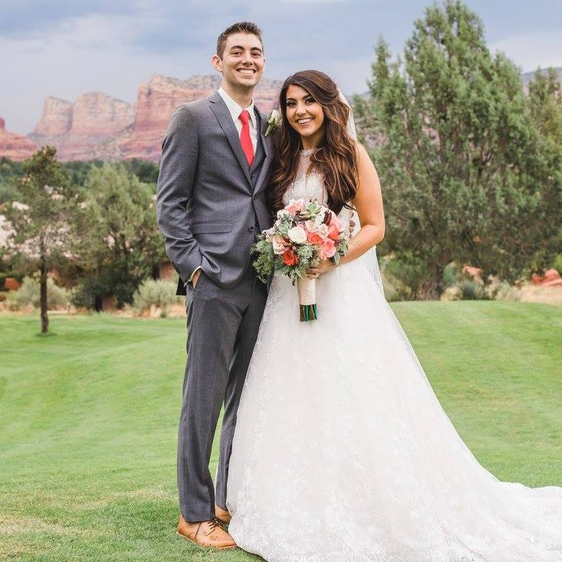 Connor Moore and his wife Gaby