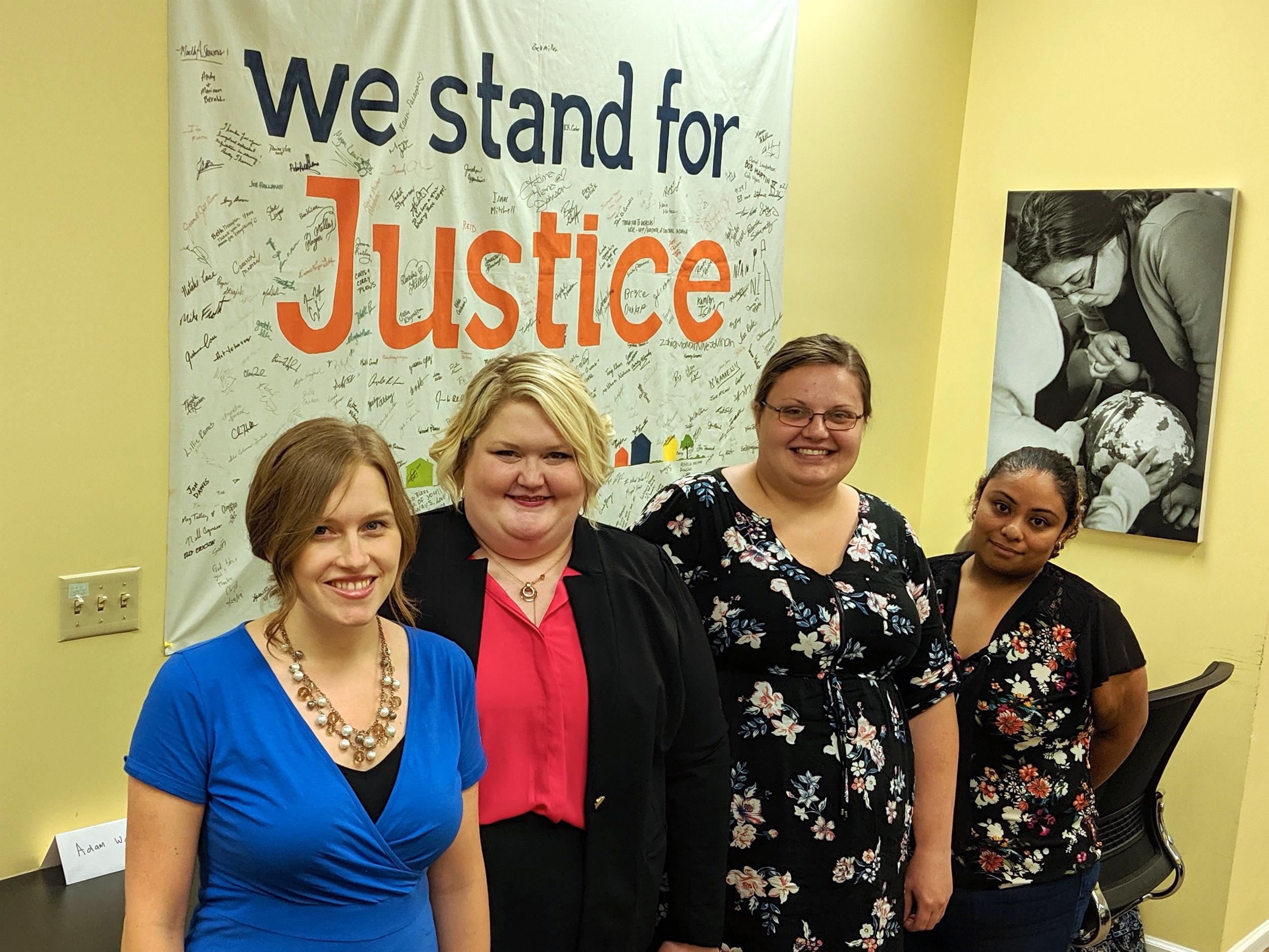 Immigrant Justice Program Staff Team