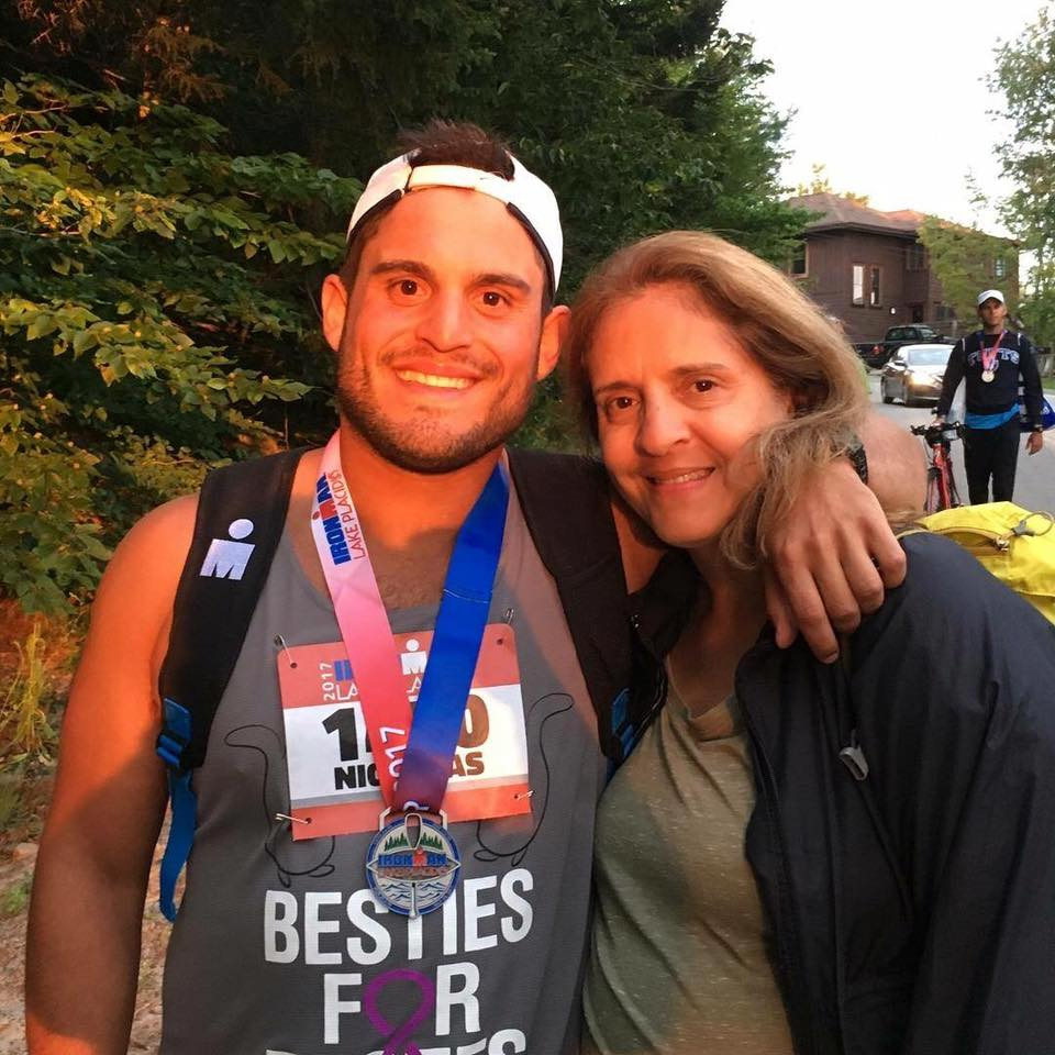 Nick Biagioni and Mother