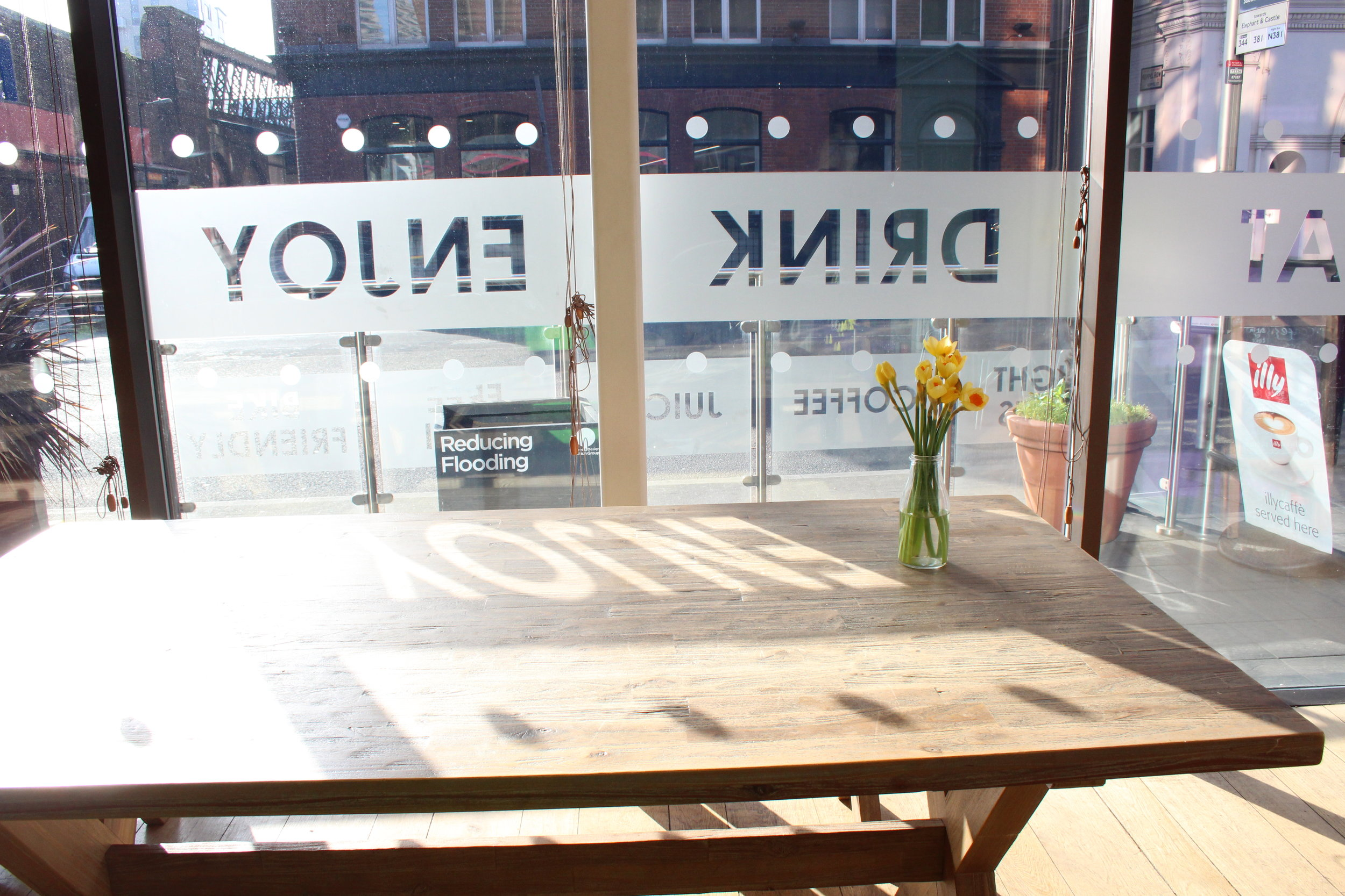 the cafe event space sunny