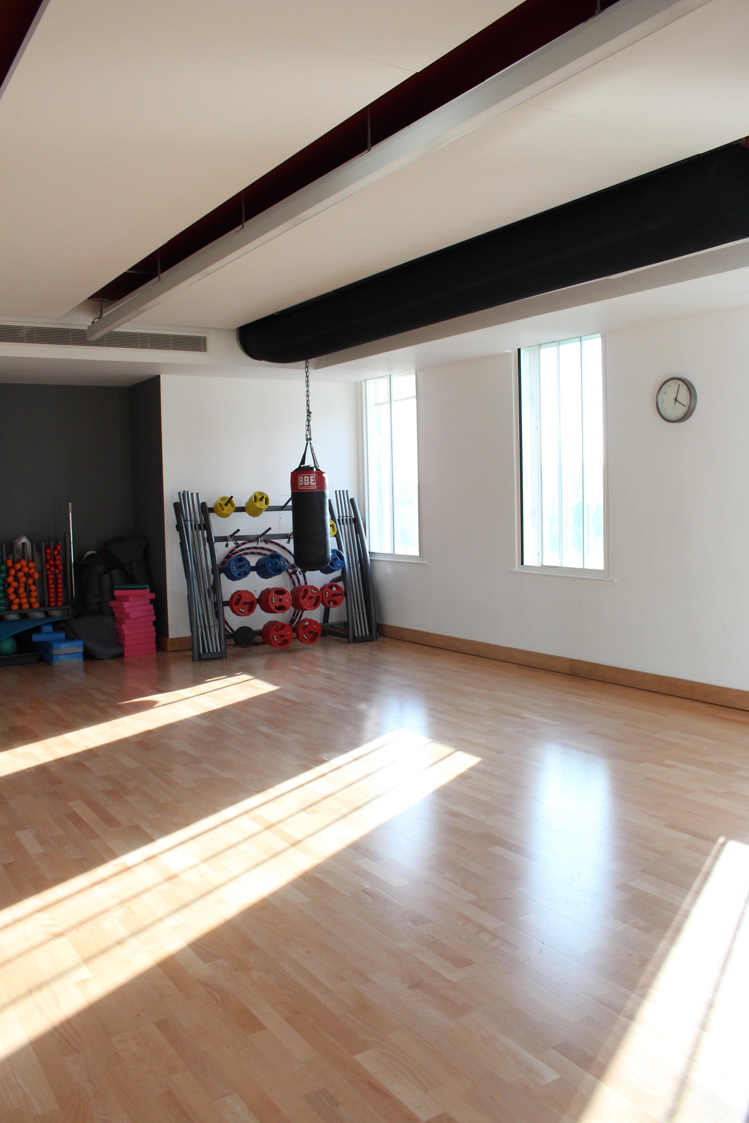 the studio hire space