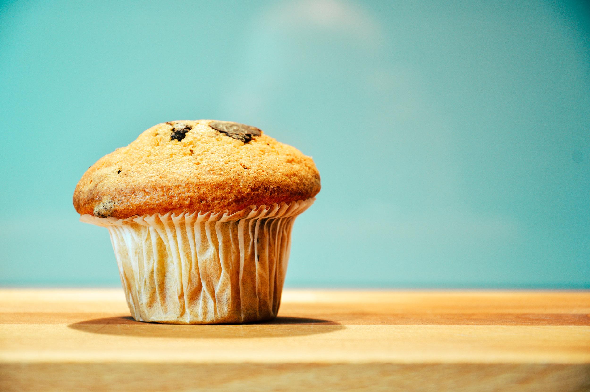 muffin/sugar