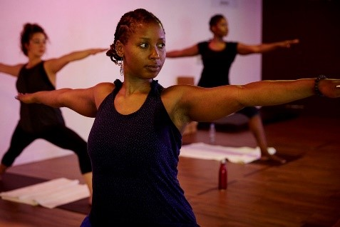 this girl can yoga