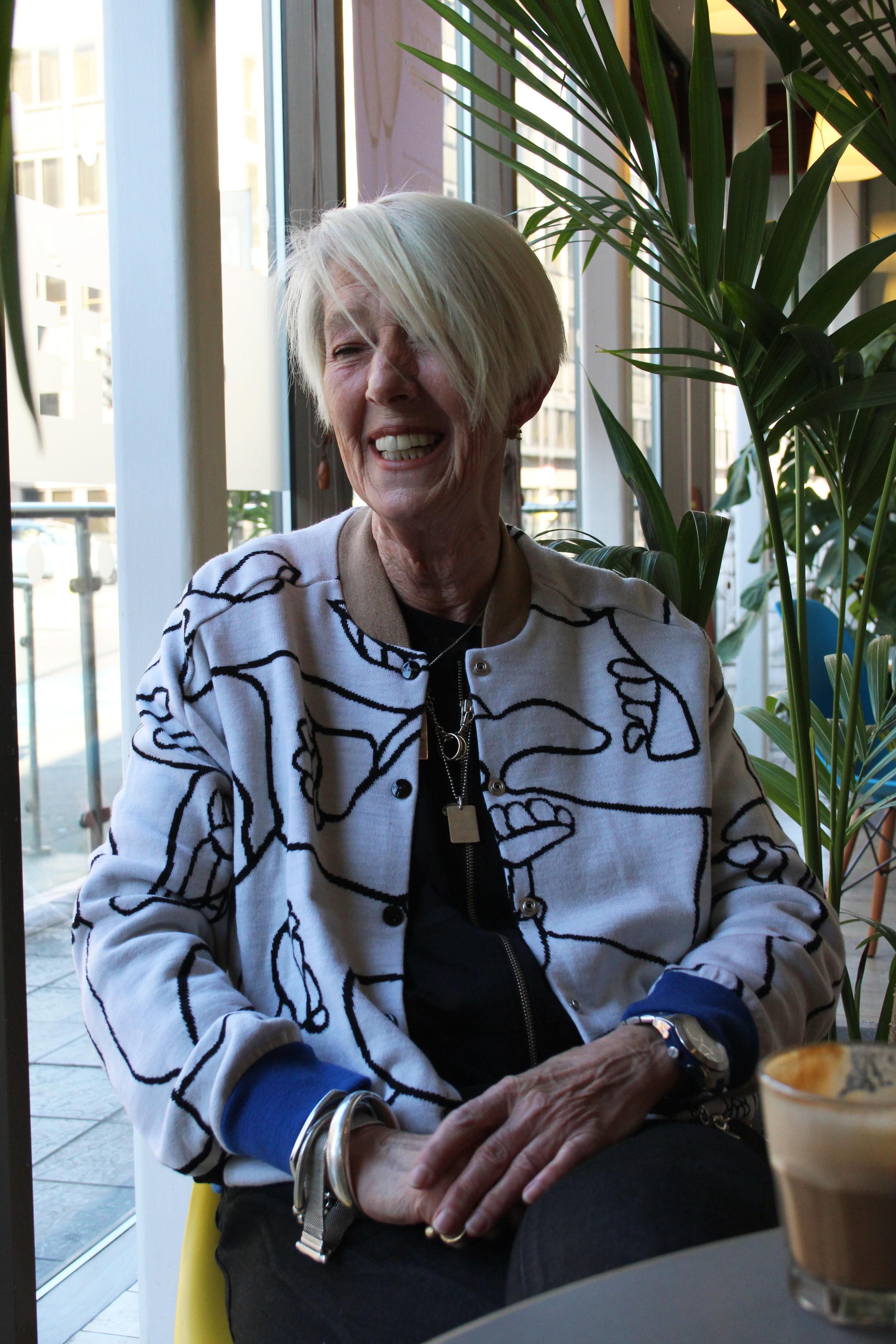 CEO interviewed women in business