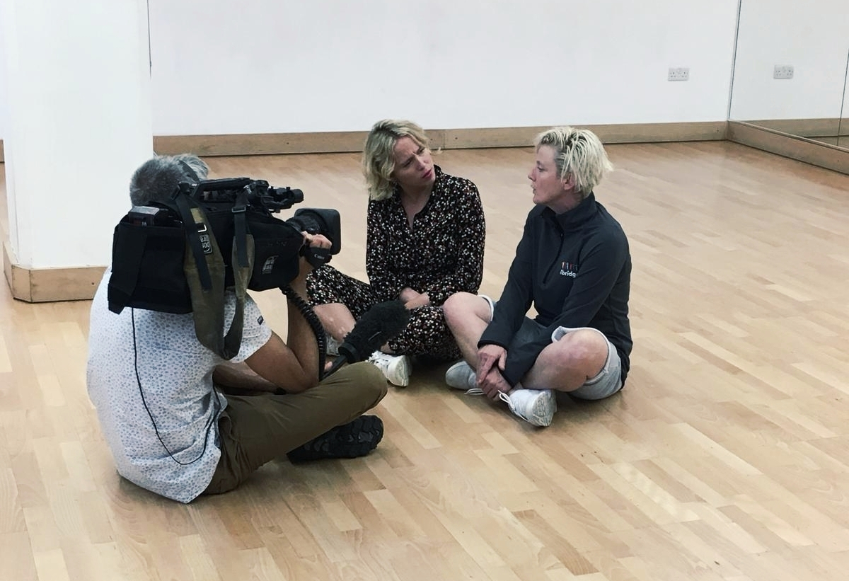 health and wellbeing manager interviewed