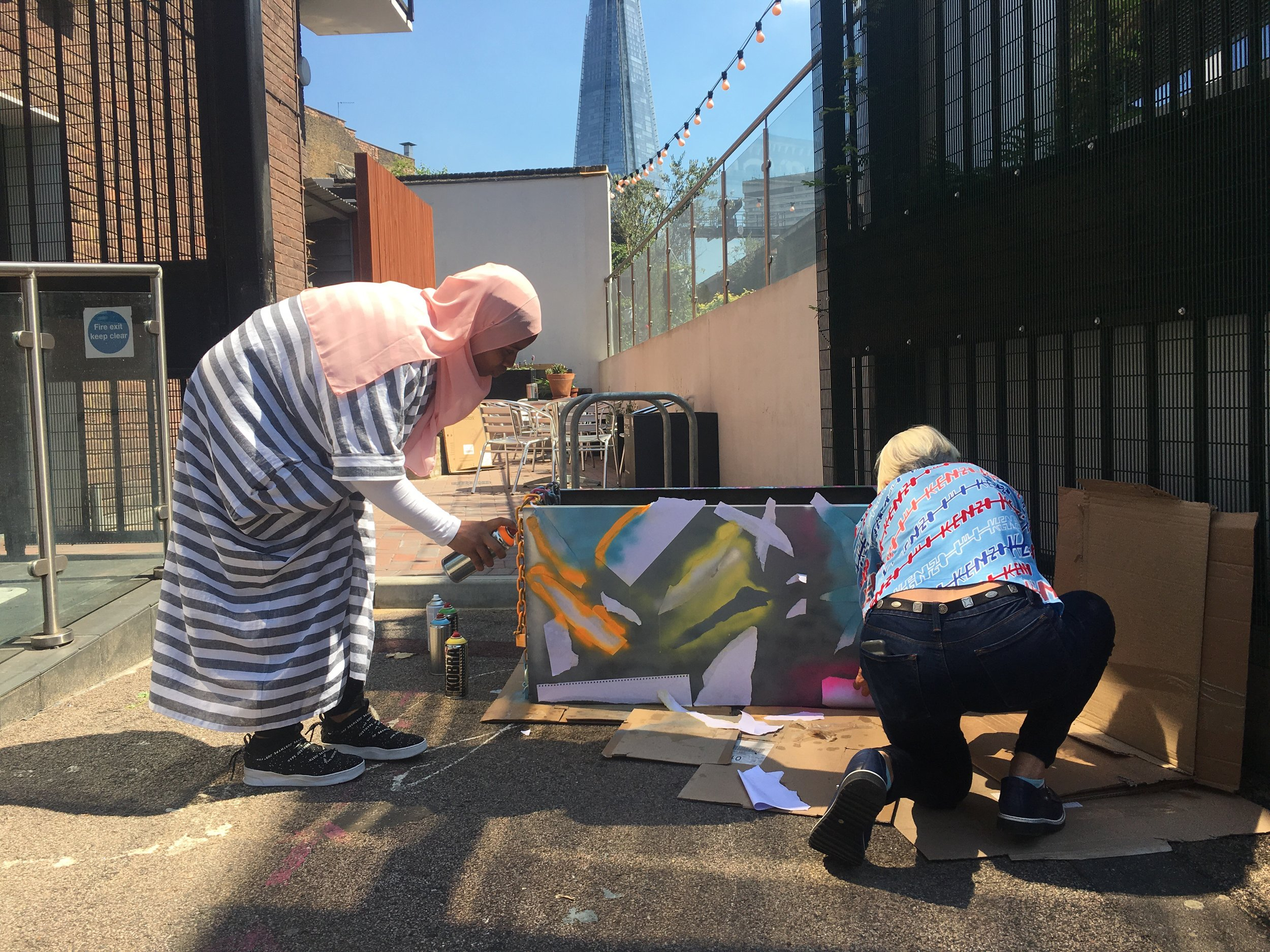 rise project art therapy london