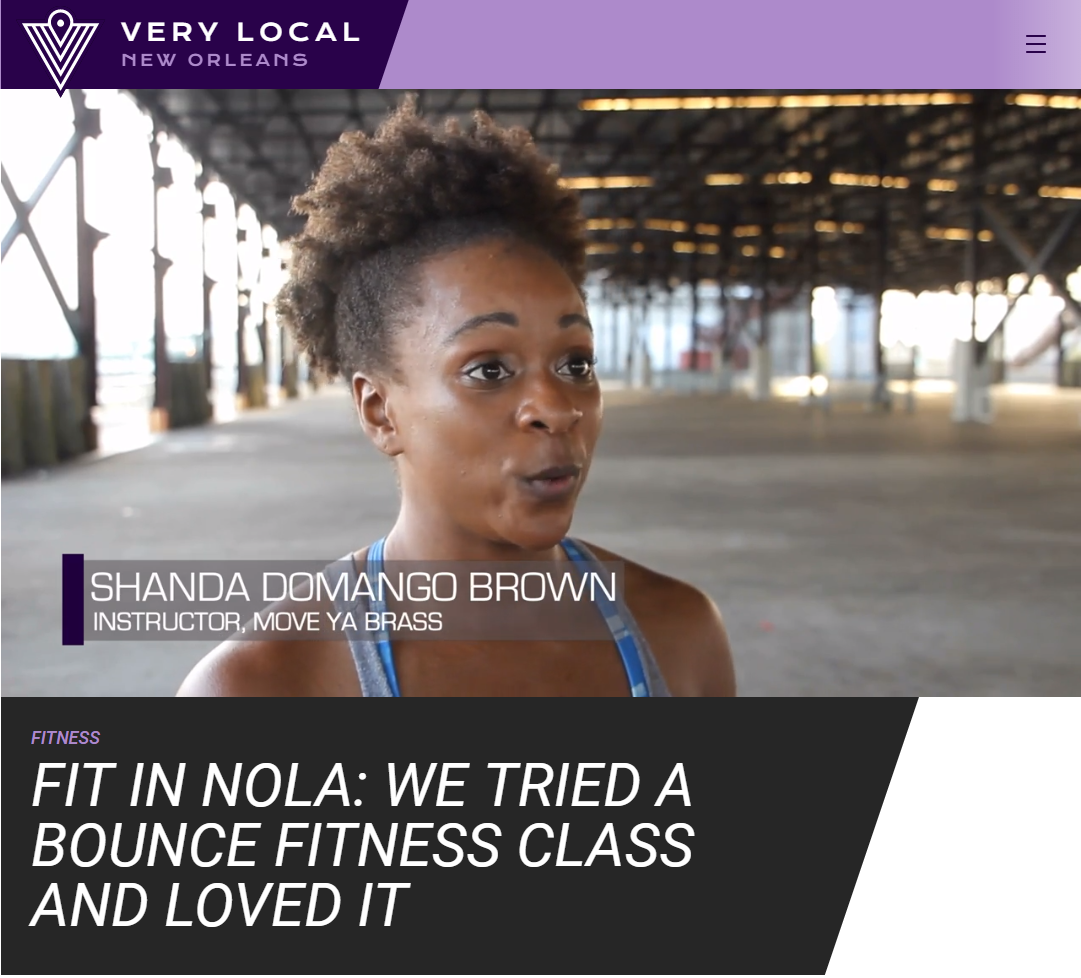 This bounce fitness class was fir for the Queen Diva herself, but don't worry if you don't think you can twerk like the Queen Diva and her dancers.