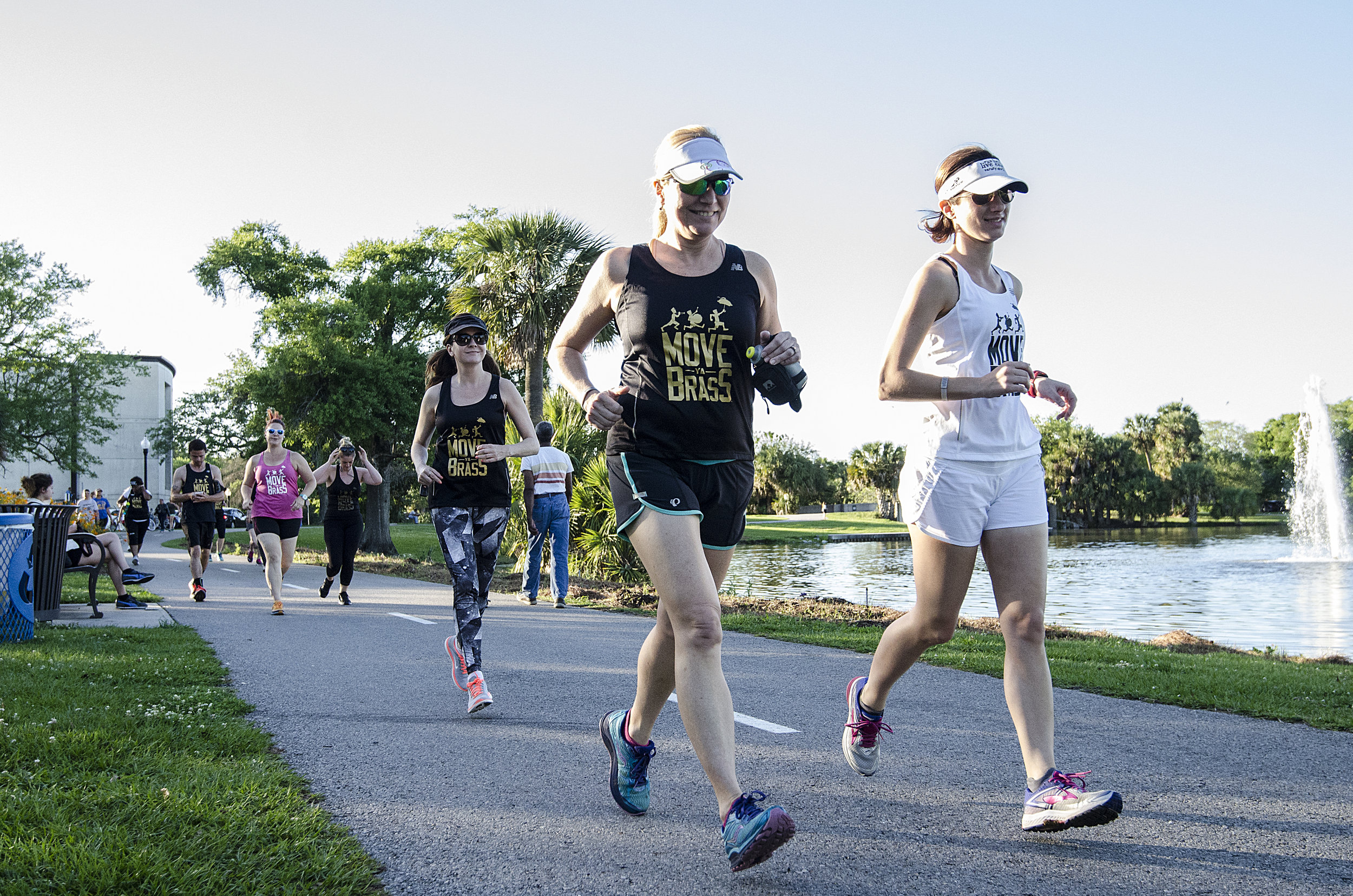 by  Greg Roques   As a long-time runner, I am honestly shocked by the number of running clubs active in New Orleans. I have lived in cities more than five times the size of our metro area, both in geography and population, and was unable to find a quarter of the running communities we have here… and they call us the Big Easy.  A good running club can be the most powerful weapon in your race-training artillery—it's also a great way to make friends and explore areas you wouldn't otherwise venture through. While a quiet solo run can be cathartic, having a group that relies on you to show up makes it less likely you will skip a workout, regardless of the weather, time of day, or your mood.  No matter your schedule or skill level, New Orleans has a crew for you. Several organizations around the city shared details with  Where Y'at  about their groups to help you find your perfect fit.