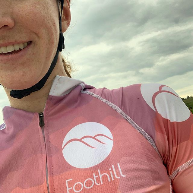 Foothill Products representing in Nebraska for @gravel_worlds! Just barely beat the thunderstorm on today's pre-ride. #foothillproducts #optoutside #ridebikes #gravel #wheelstorage #jakroofast #beattherain