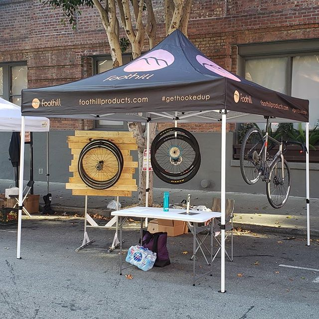 The #girodisanfrancisco is away! Come say hello if you're racing or spectating.