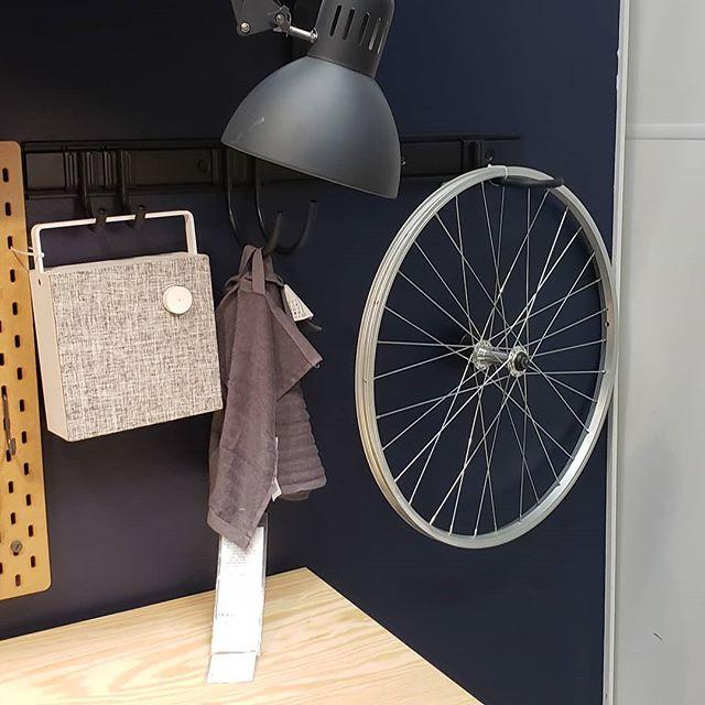 Nice try IKEA.  #wheelstorage #bikestorage #gethookedup