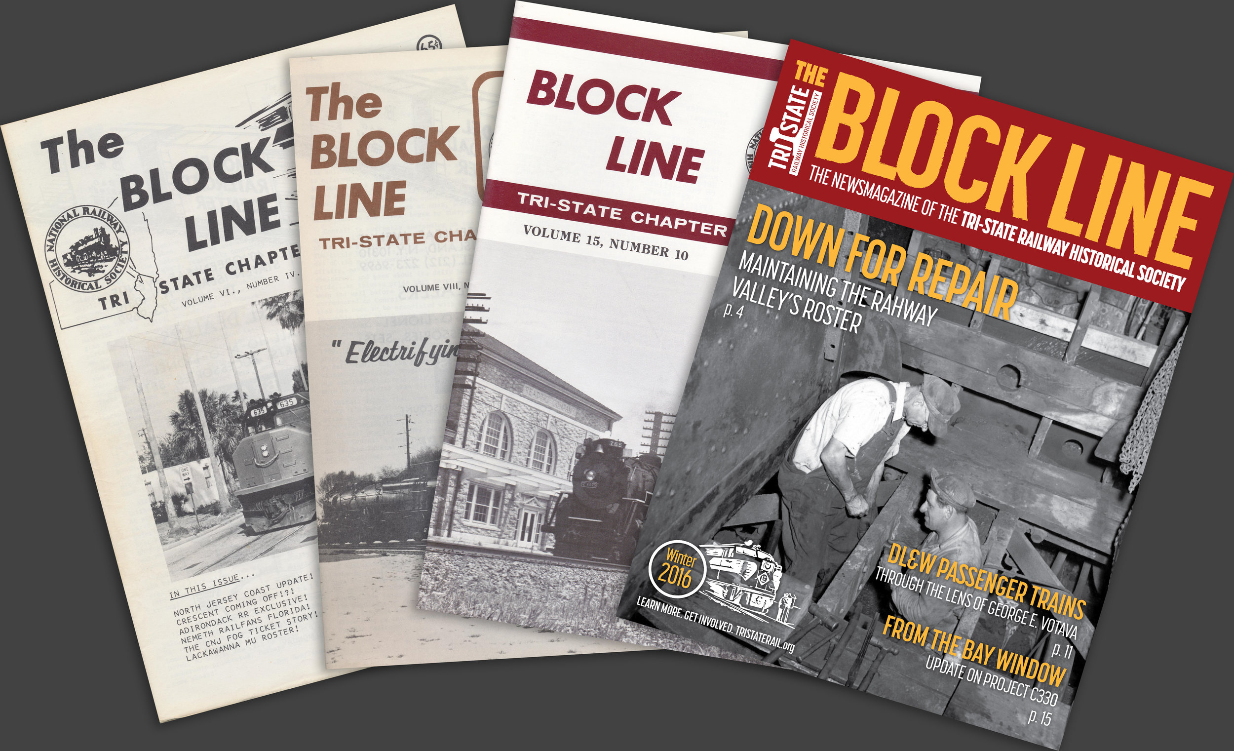Recording & Promoting   Written Railroad History    Learn more about our publications