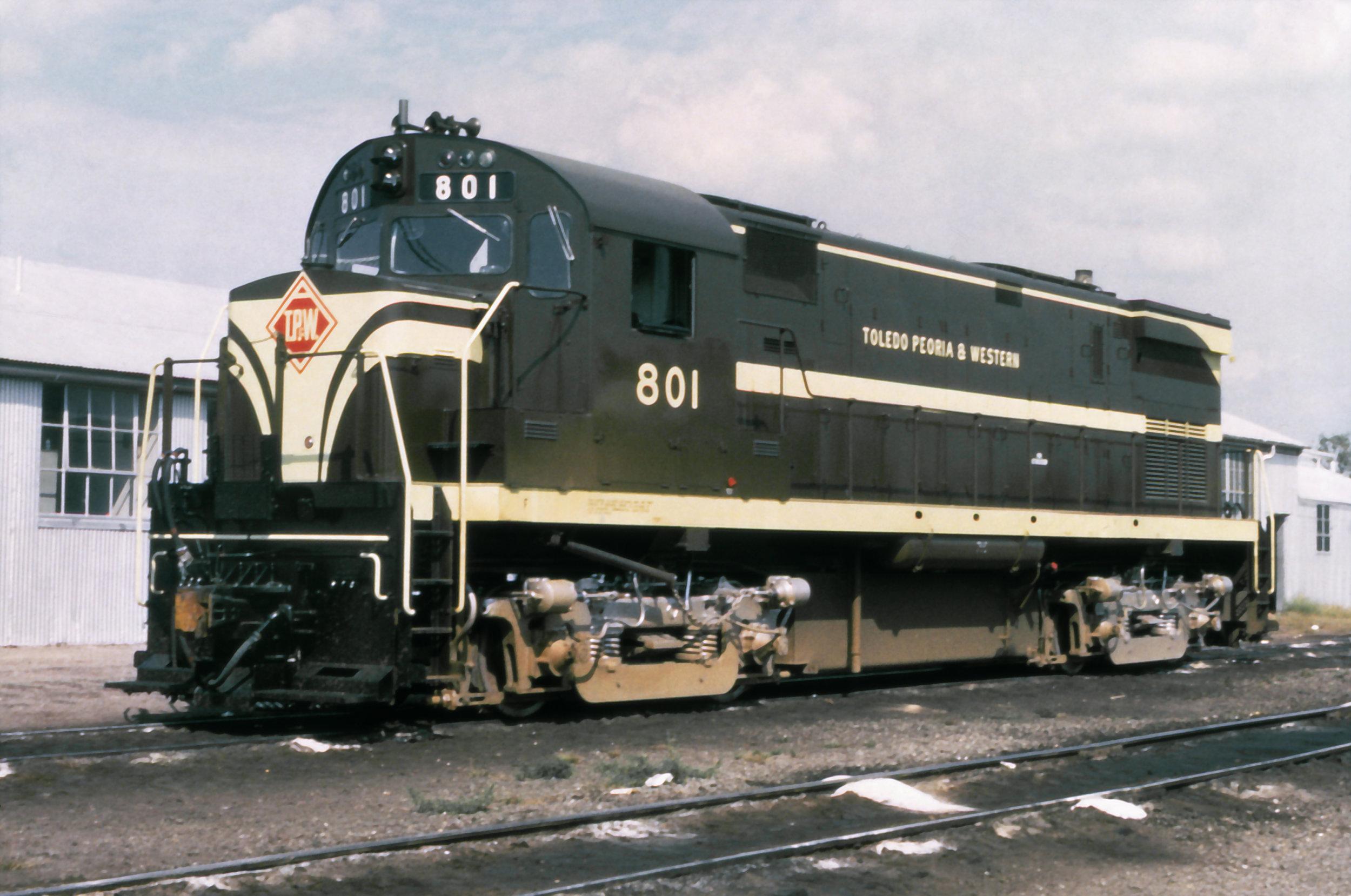 TP&W 801 (M&E 19) circa 1964.