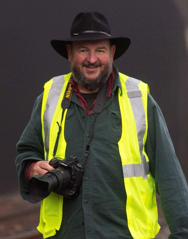 Steve Barry -Editor, Railfan & Railroad Magazine