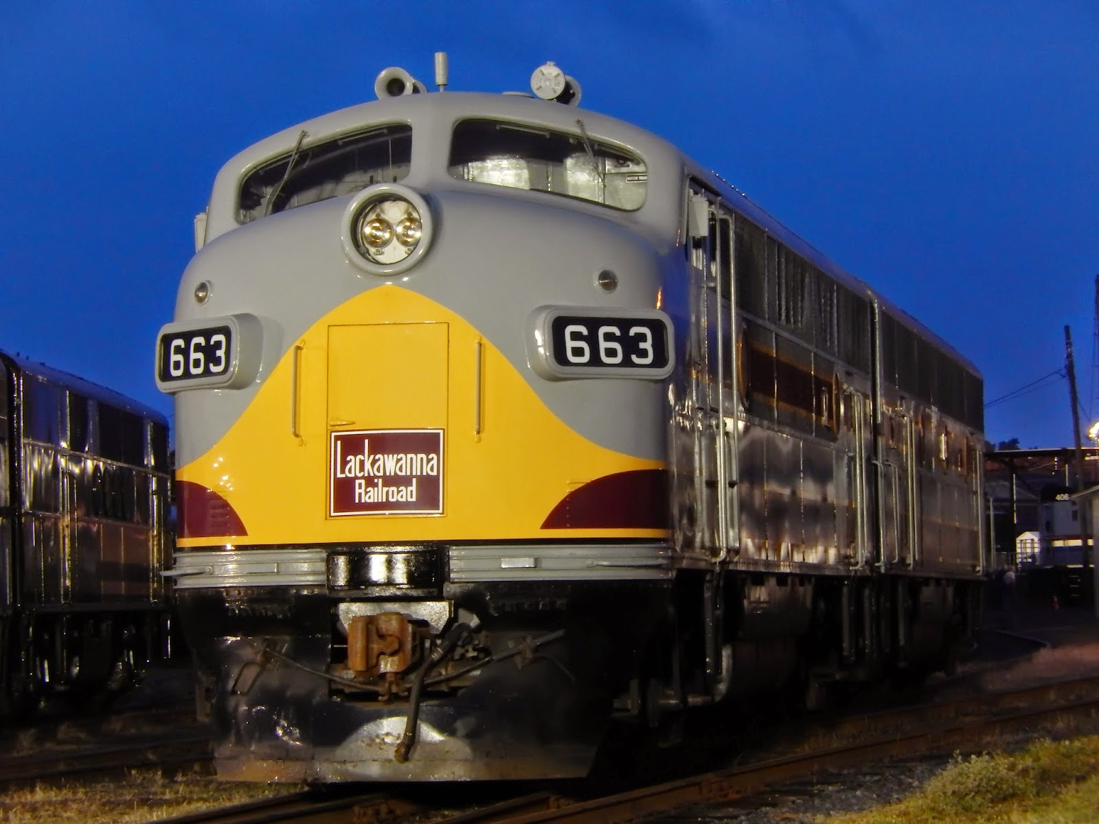 DL&W 663 at  Streamliners at Spencer  in 2014.  (Signal Light Productions)