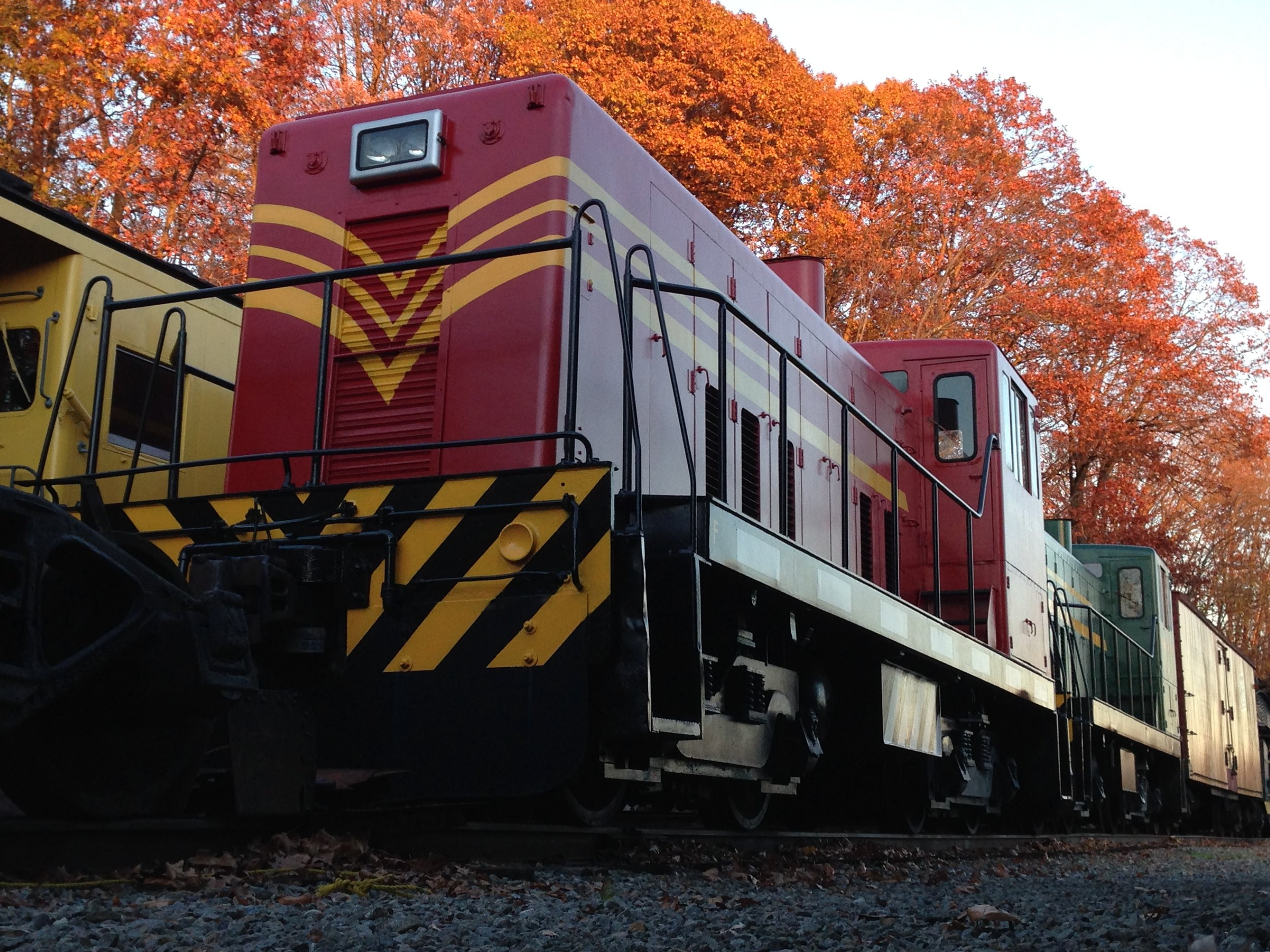 No. 16 on display at the Whippany Railway Museum in late-2014.  (Richard J. King photo)