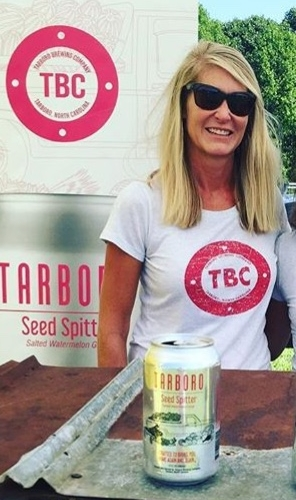 "Elizabeth Parrott, ENC Everything   Hey Girl Hey! A fellow Tarboro High School Viking, Elizabeth was born and raised in Tarboro, but calls Greenville her home base. Selling TBC across the state of North Carolina, Elizabeth makes sure the Tarboro Ship is in tip-top shape. A self-proclaimed ""music freak,"" Elizabeth will travel for bands and beer."
