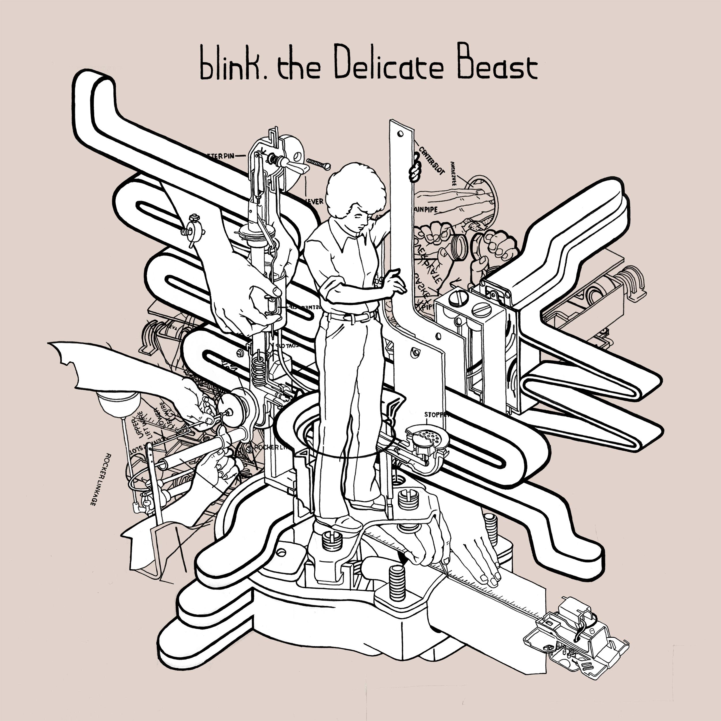 blink. | The Delicate Beast   buy:  MP3   CD   BandCamp   iTunes   Amazon