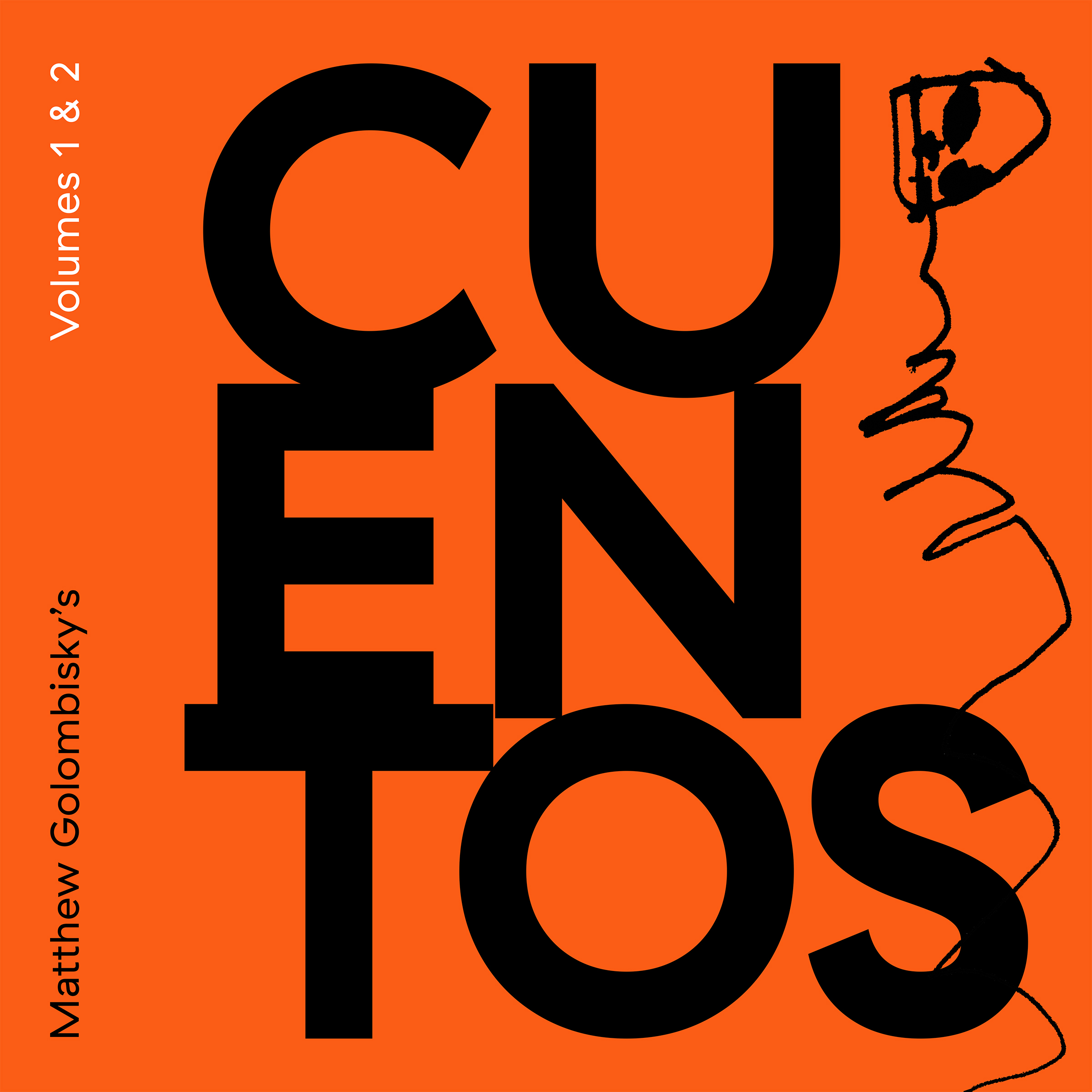 Matthew Golombisky's Cuentos | Volumes 1 & 2    pre order  cassette/digital