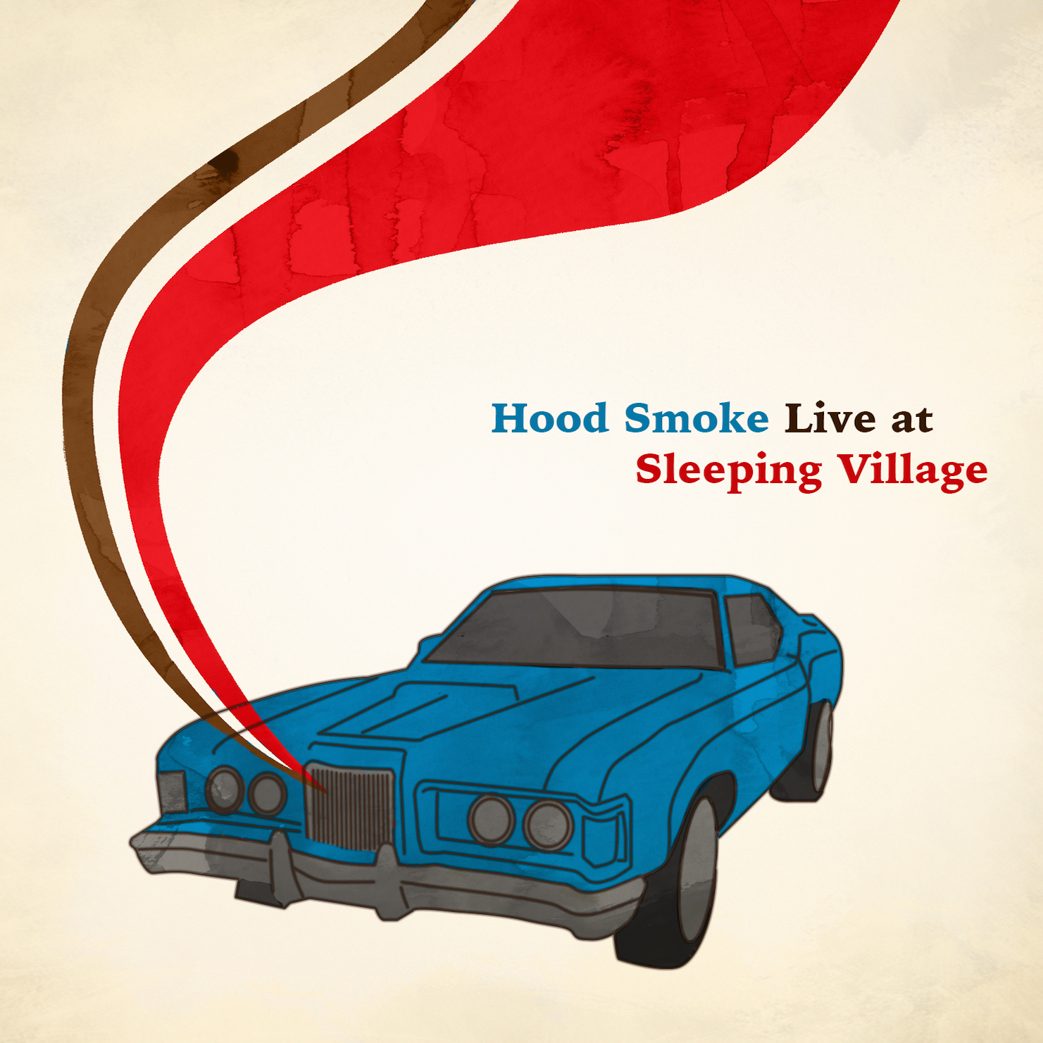 Hood Smoke | Live at Sleeping Village   Digital download  here