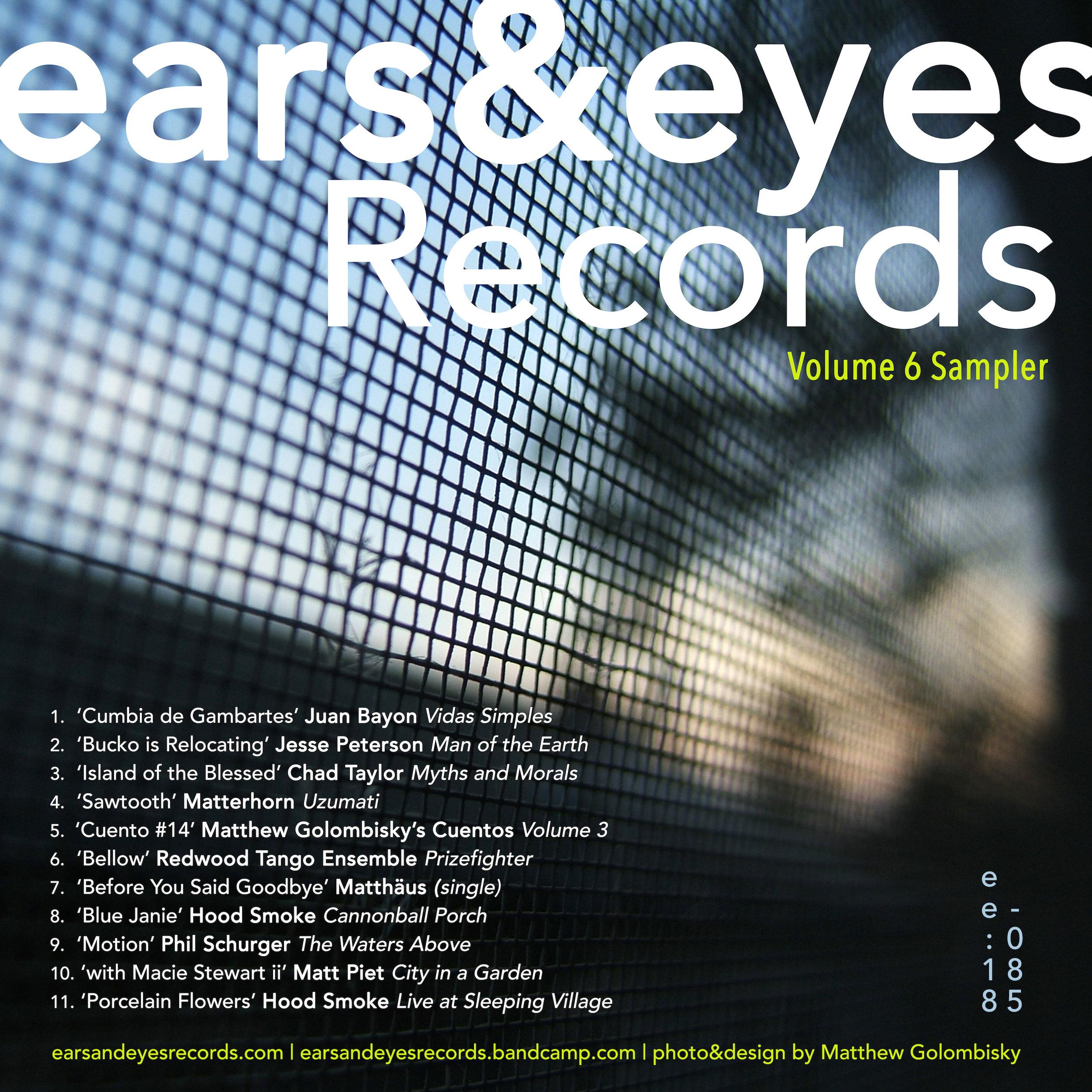 ears&eyes Records | Volume 6 Sampler