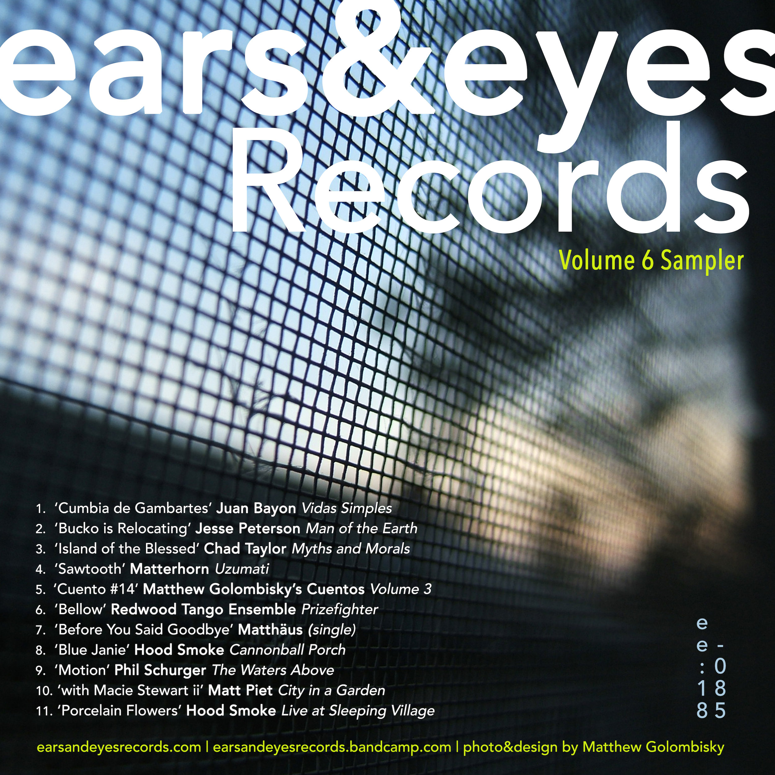 ears&eyes Records | Volume 6 Sampler