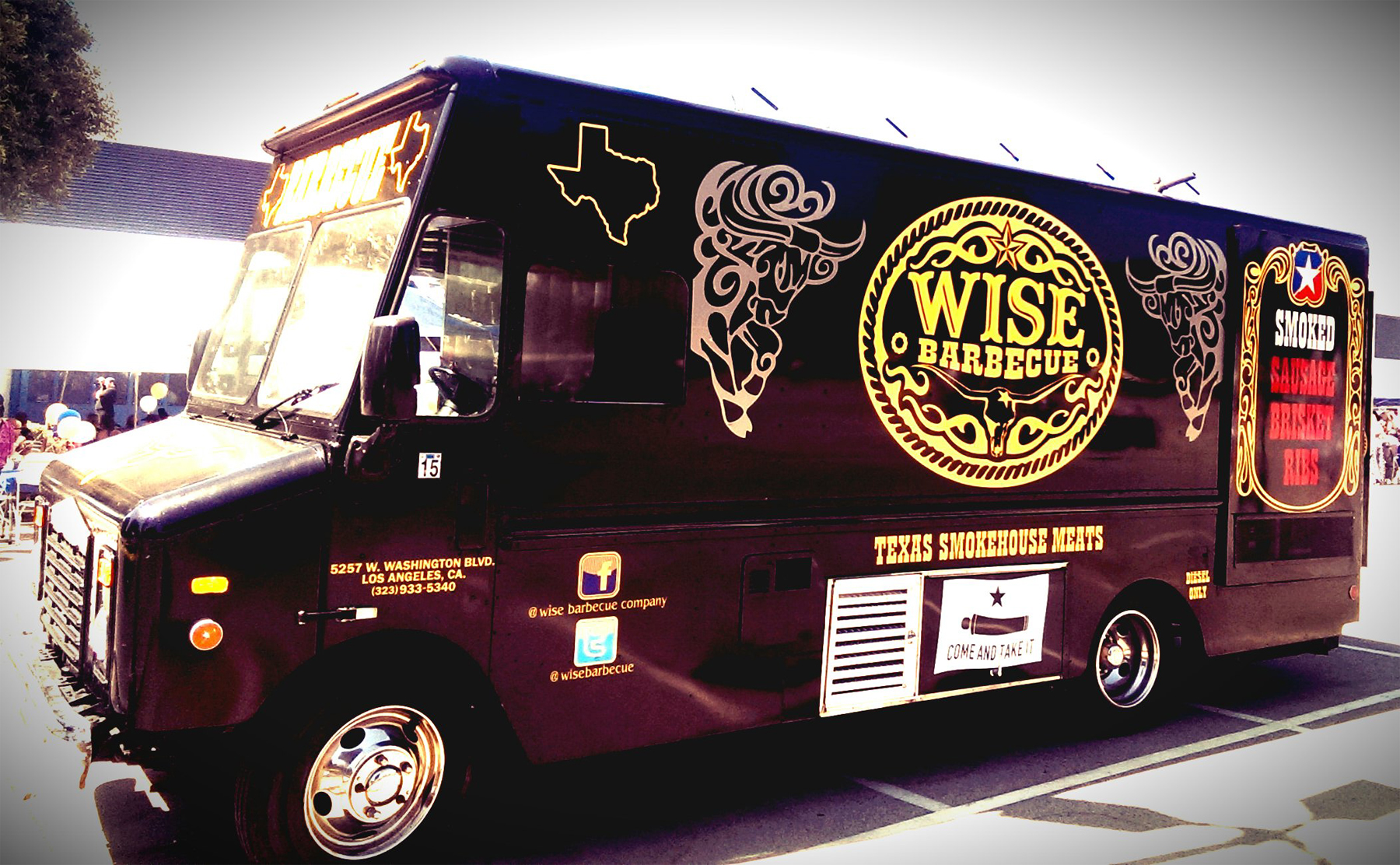 WORLD FAMOUS WISE BBQ FOOD TRUCK!