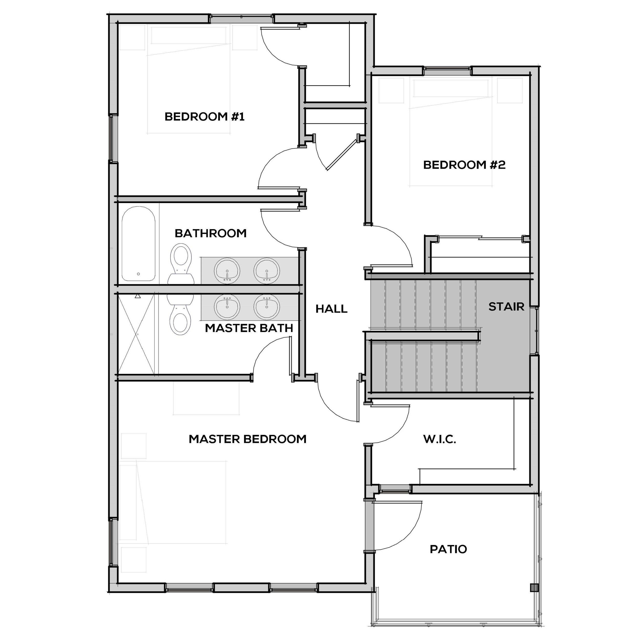 Valdez | Second Floor | Floor Plan